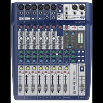 Soundcraft - Signature 10 USB-s Keverő