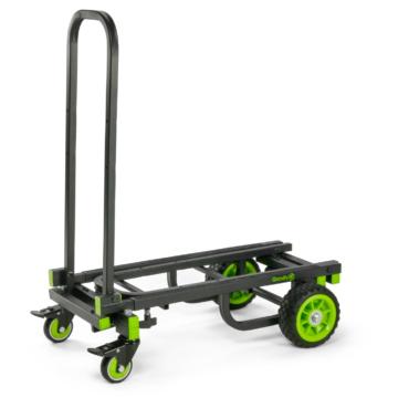Gravity -  Cart M 01 B szállító kocsi többfunkciós 8 az 1-ben konfiguráció 150 kg terhelhetőség fekete