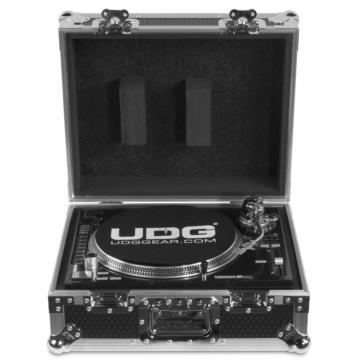 UDG - U92030SL Ultimate Flight Case Multi Format Turntable Silver