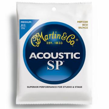 Martin - MSP3200 bronz 13-56 akusztikus gitárhúr készlet