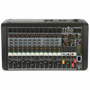 Power Dynamics - PDM-M1204A 12 Csatornás zenekari keverőerősítő