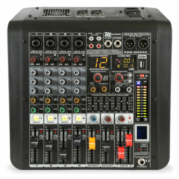 Power Dynamics - PDM-M404A 4 Csatornás zenekari keverőerősítő