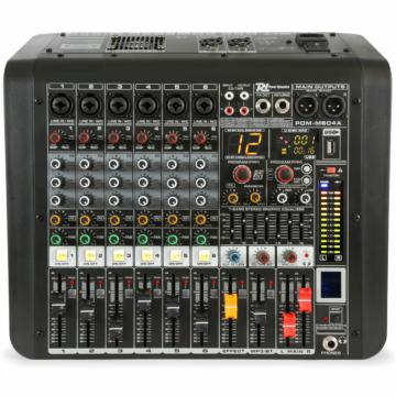 Power Dynamics - PDM-M604A 6 Csatornás zenekari keverőerősítő