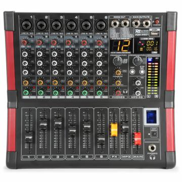 Power Dynamics - PDM-M604 6 Csatornás zenekari keverő