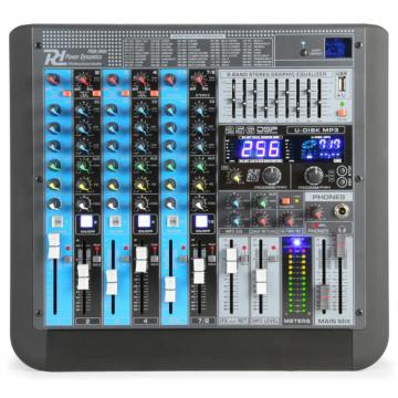 Power Dynamics - PDM-S804 8 Csatornás zenekari keverő