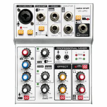 Voice Kraft - VK-UPC Keverőpult és hangkártya