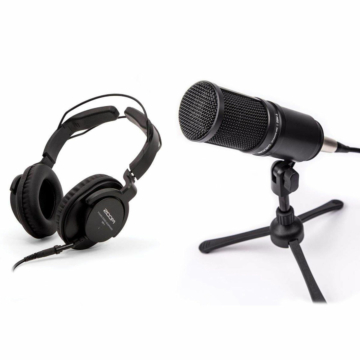Zoom - ZDM-1 Podcast mikrofon csomag