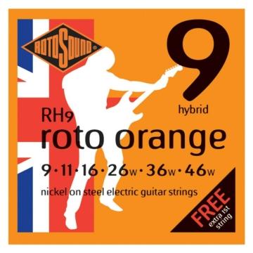 Rotosound - R9 Roto Orange hybrid elektromos gitárhúr készlet 9-46