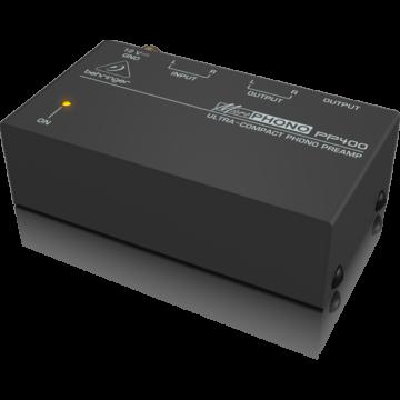 Behringer - PP400 kompakt lemezjátszó előfok erősítő preamp