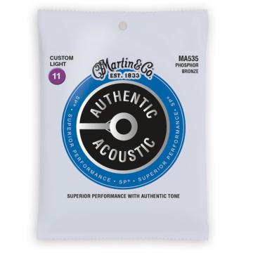Martin - MA535 foszfor-bronz 11-52 akusztikus gitárhúr készlet