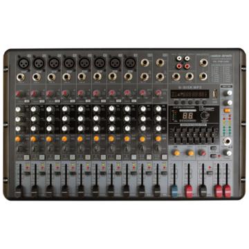 Voice Kraft - VK PM1208 Powermixer 2x250W 4Ohm Készletakció