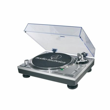 Audio Technica - AT-LP120USBHC SV lemezjátszó ezüst