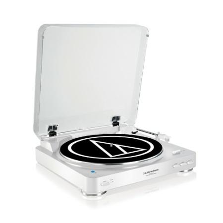 Audio Technica - AT-LP60BT Automata lemezjátszó Bluetooth kapcsolattal, ezüst