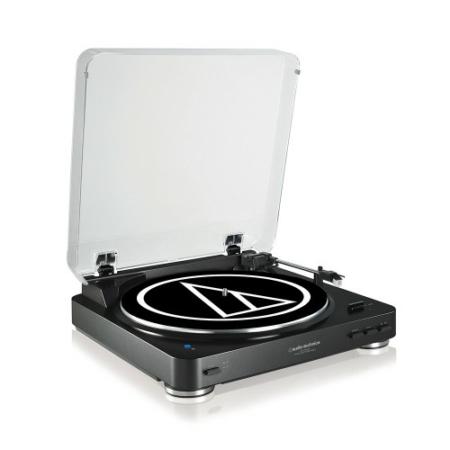 Audio Technica - AT-LP60BT Automata lemezjátszó Bluetooth kapcsolattal, fekete
