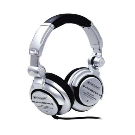 Omnitronic - SHP-2000 MK2 DJ fejhallgató eleje