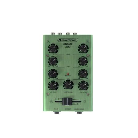 OMNITRONIC - GNOME-202 Mini Mixer green