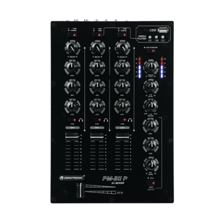 OMNITRONIC - PM-311P DJ Mixer with Player