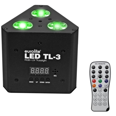 EUROLITE - LED TL-3 RGB+UV Trusslight