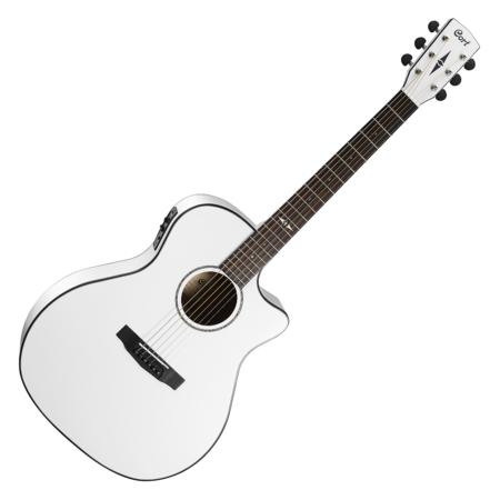 Cort - GA5F-WH akusztikus gitár Fishman EQ-val fehér