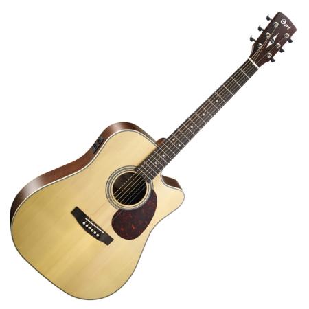 Cort - MR600F-NAT akusztikus gitár Fishman EQ-val natúr színben
