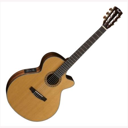 Cort - CEC-7-NAT Klasszikus gitár elektronikával natúr