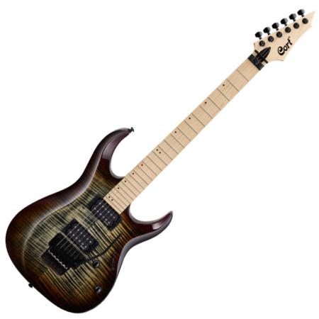 Cort - X300-BRB elektromos gitár barna burst