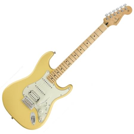 Fender - PLAYER STRATOCASTER HSS MN Buttercream 6 húros elektromos gitár ajándék félkemény tok