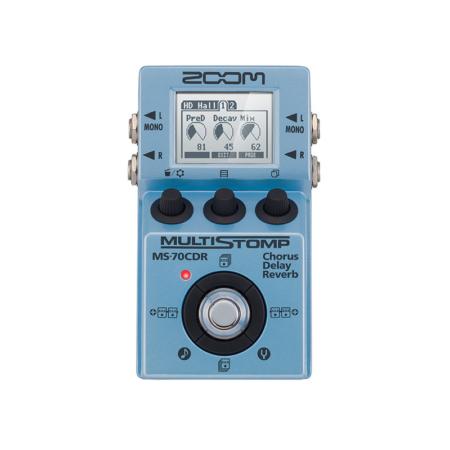 Zoom - MS-70CDR multieffekt pedál elektromos és basszus gitárhoz