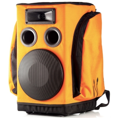 Partybag - 6 Wireless RX2 Orange