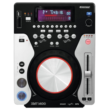 OMNITRONIC - XMT-1400 Tabletop CD player
