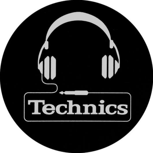 Technics - Slipmats Headphone
