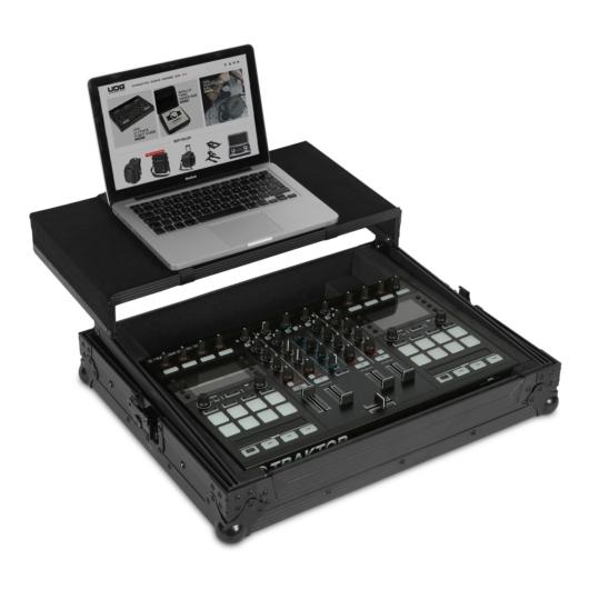 UDG - Ultimate Flight Case Multi Format XL MKII Black Plus (Laptop Shelf)