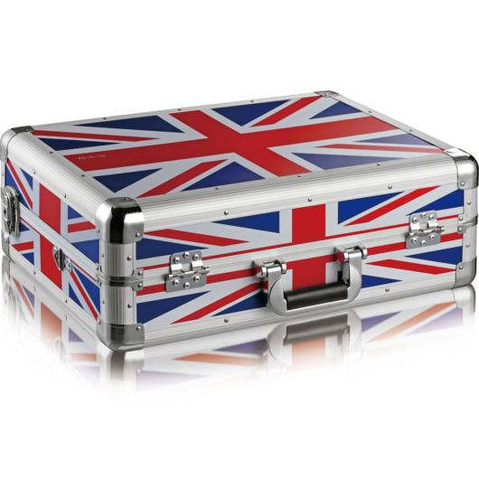 Zomo - MFC-S4 - Flightcase Native Instruments S4 MKII UK Flag