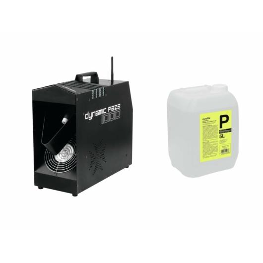 EUROLITE - Set Dynamic Faze 1000 + Smoke Fluid -P2D- 5l