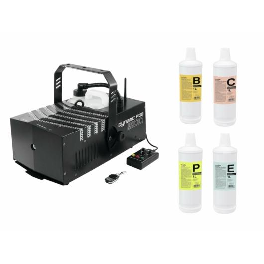 EUROLITE - Set Dynamic Fog 1500 + fluids