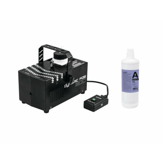 EUROLITE - Set Dynamic Fog 600 + Smoke fluid -A2D- 1l