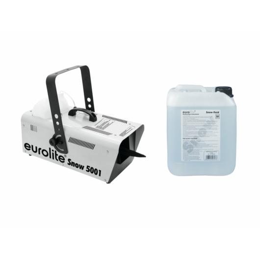 EUROLITE - Set Snow 5001 Snow machine + Snow fluid 5l
