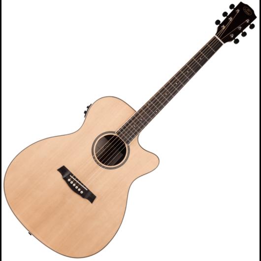 JM Forest - SGA100 CEQ Grand Auditorium elektroakusztikus gitár, szemből