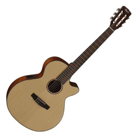 Cort - CEC-3-NS Klasszikus gitár elektronikával matt natúr