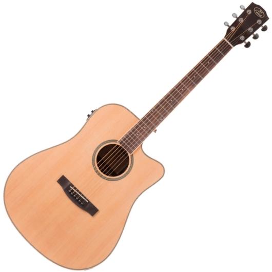 JM Forest - SD28 NAT WB CEQ elektroakusztikus gitár, szemből