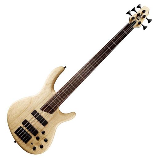 Cort - B5Plus-AS Artisan 5 húros elektromos basszusgitár natúr