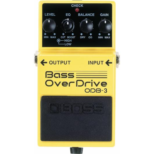 Boss - ODB-3 Bass Overdrive torzítópedál basszusgitárhoz