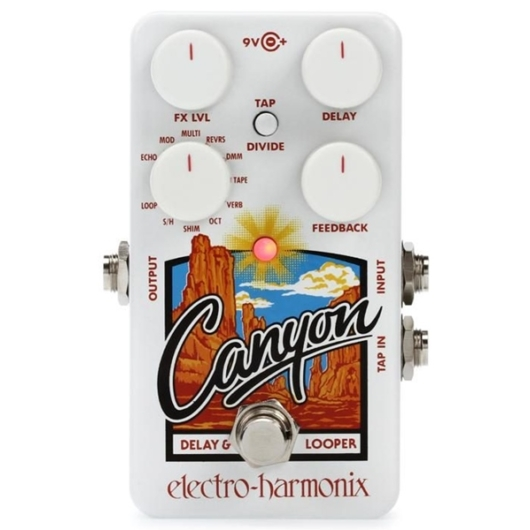 Electro Harmonix - Canyon Delay & Looper multieffekt pedál