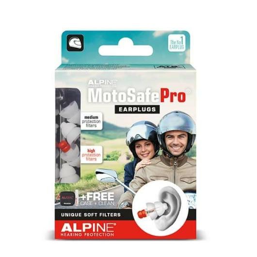 Alpine - MotoSafe Pro füldugó