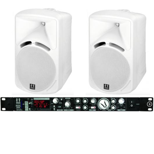 Hill Audio - IMA200 Media Amp Szett White 2