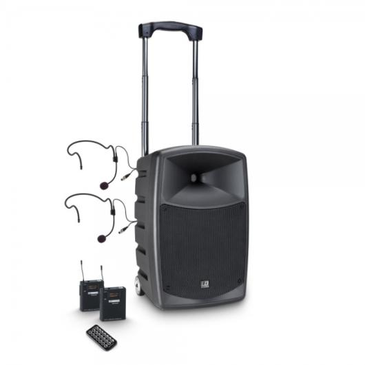 LD Systems - Road Buddy 10 BHP2 B6 aktív akkumulátoros Bluetooth hangrendszer