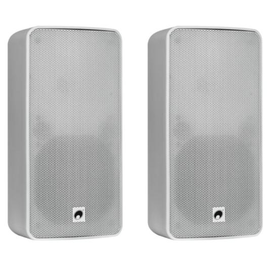 OMNITRONIC - ODP-206T Installation Speaker 100V white 2x