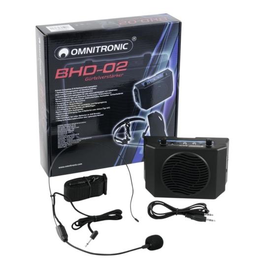 OMNITRONIC - BHD-02 Waistband Amplifier