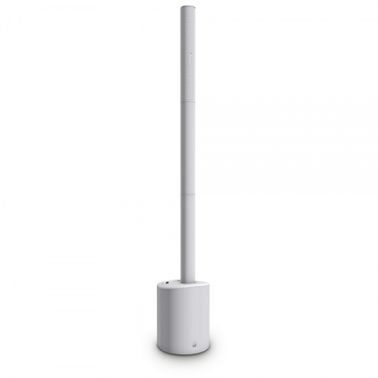 LD Systems - LD MAUI 5 GO All-in-One Array aktív fehér PA torony rendszer, szemből
