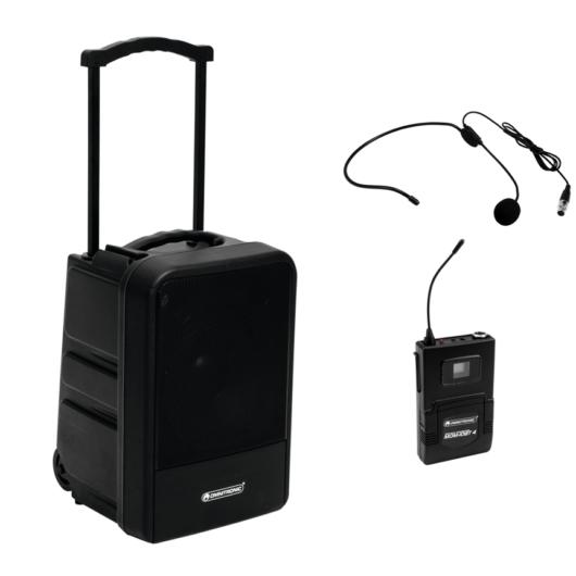 OMNITRONIC - MOM-10BT4 hordozható PA Fejmikrofonos szett